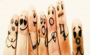شناخت شخصیت از روی انگشتان