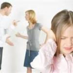 دعوای والدین