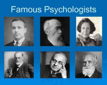 روانشناسان معروف